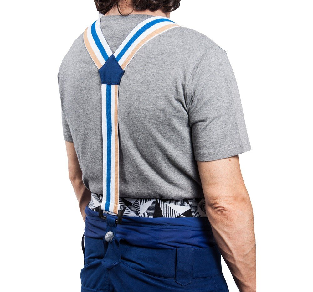 ski pants suspenders