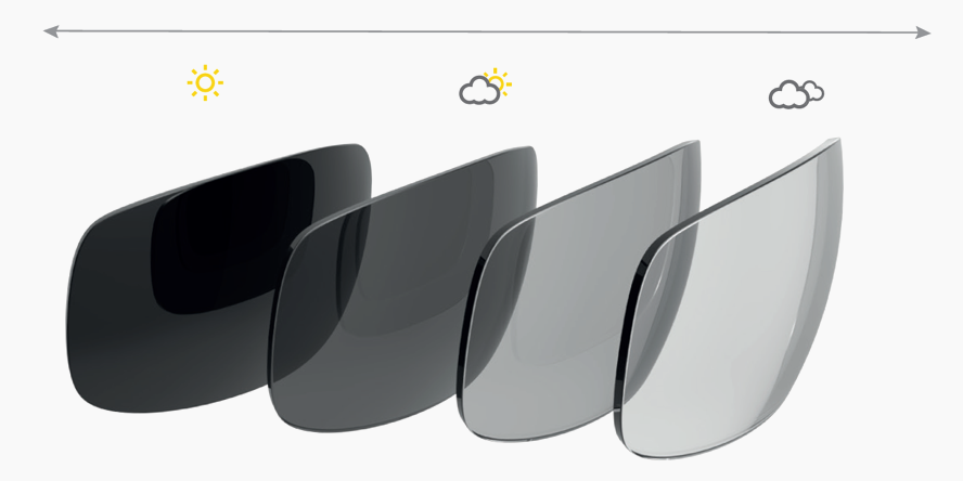Bolle modulator photochromic lens