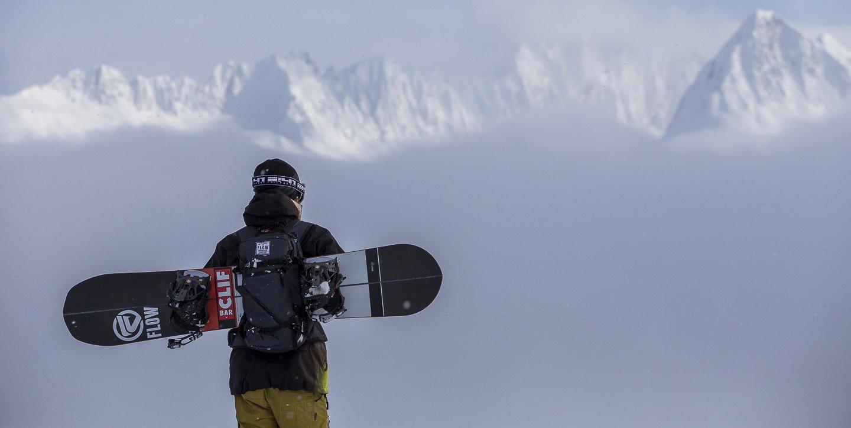 Snowboard backpack