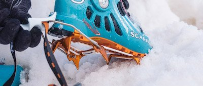 mountaineering crampons