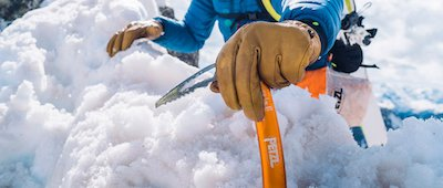 ski touring ice axe
