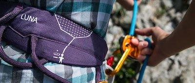 ski touring harness